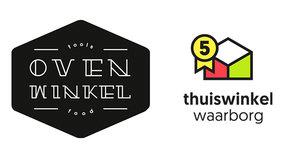 Logo de OVENWINKEL voor puur kookplezier