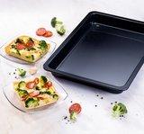 Dr Oetker Pizza-/bakplaat Kreativ geëmailleerd 29x42x4cm_
