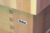 Butler Keukentrolley kopshout M-600 detail hoek