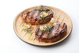 Romertopf BBQ grillplaat ribbels 32 cm_