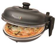 Optima Napoli Pizza Express steenoven gietijzer zwart