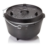 Petromax Dutch Oven ft9 8L met pootjes