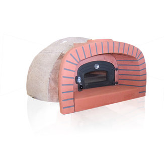 Difiore zelfbouw houtoven 2 pizza's type 5A