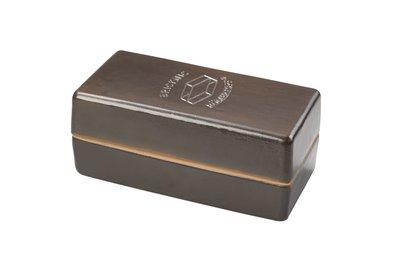 Romertopf Kooksteen Brick zwart - luxe uitvoering - e-pack