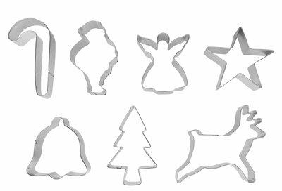 Ibili Uitstekers kerst set 7 stuks