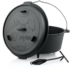 BBQ-Toro Dutch oven Forest 13,6L (DO12F)