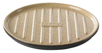Romertopf BBQ grillplaat ribbels 32 cm
