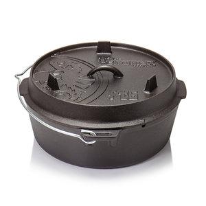 Petromax Dutch Oven ft6-t 6L zonder pootjes